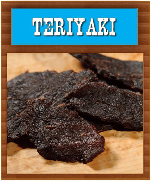 Teriyaki Jerky - Barren Creek Beef Jerky